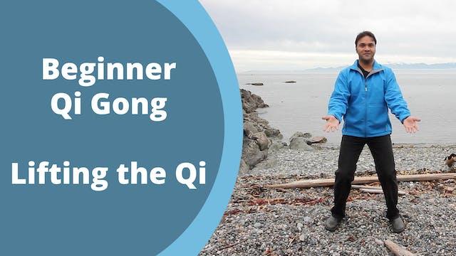 Lifting the Qi Exercise (8 mins)