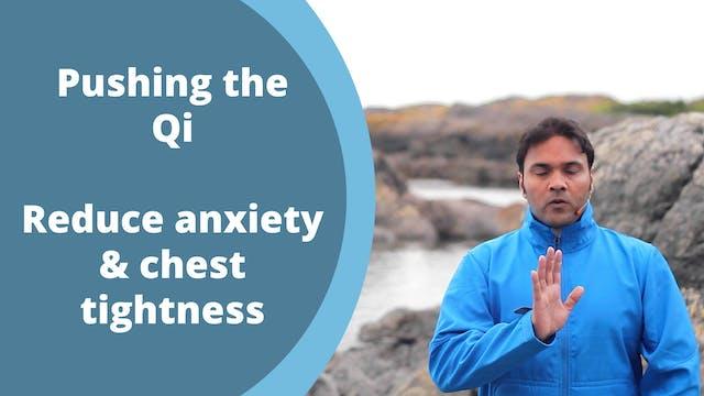 Pushing the Qi Exercise (3 mins)
