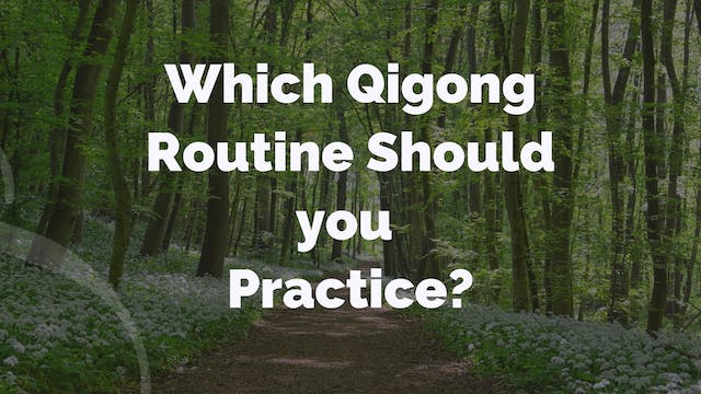 'Q and A' Episode 2 - Which QiGong Ro...