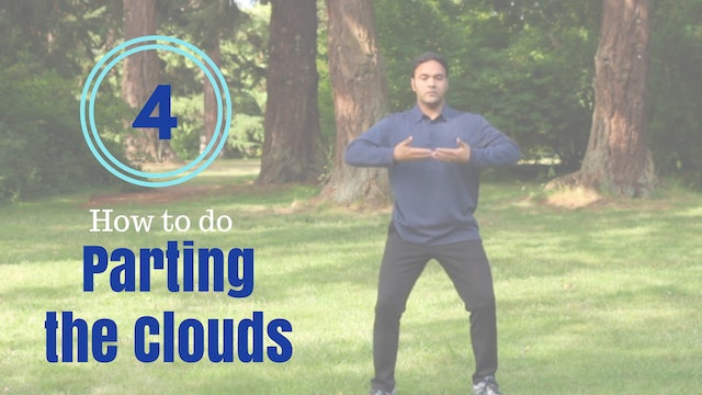 How to do 'Parting the Clouds' (5 mins)