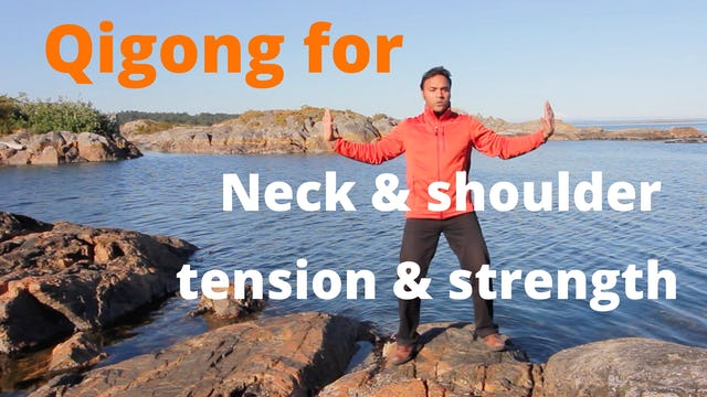 Qi Gong for Neck and Shoulder Tension (15 mins)