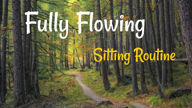 Fully Flowing Sitting Routine (46 mins)