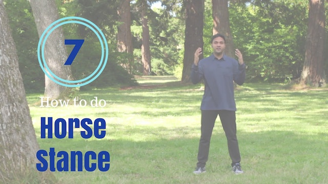 How to do 'Horse Stance' (10 mins)