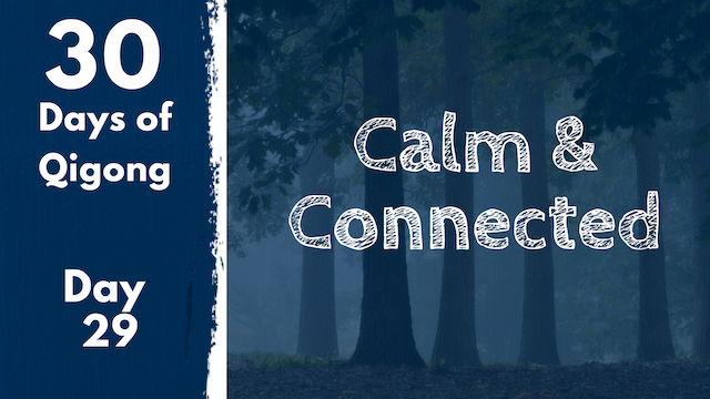 Day 29 Calm and Connected (18 mins)
