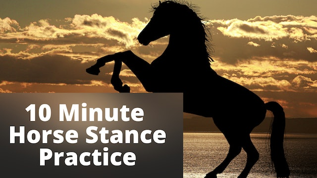 10 Minute Horse Stance Practice (16 mins)