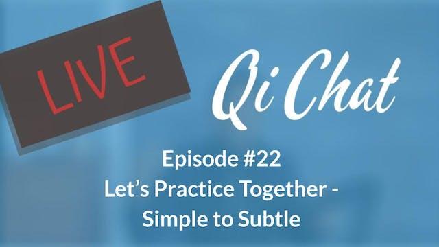 January Qi Chat (71 mins)