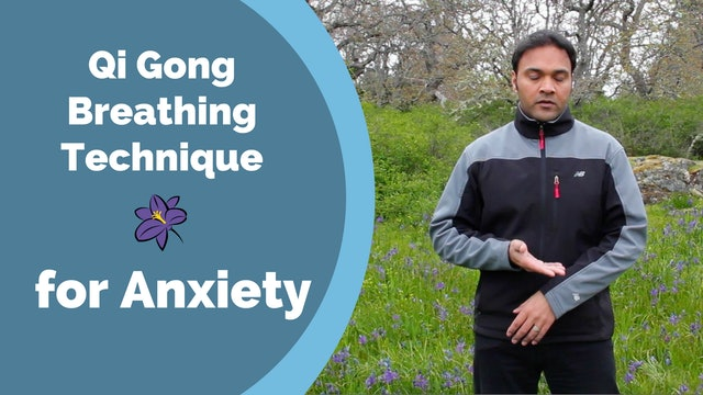Simple Acupressure/Breathing Technique for Anxiety (13 mins)