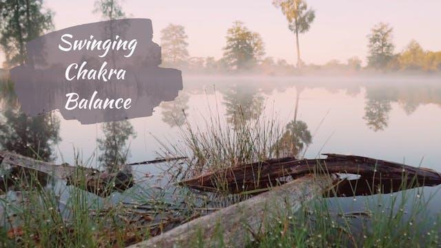 Swinging Chakra Balance (20 mins)