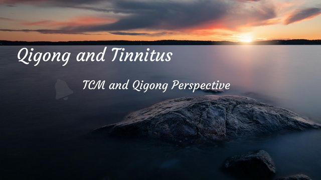 #4) Tinnitus from a TCM Perspective (8 mins)