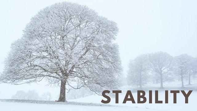 Stability (31 mins)
