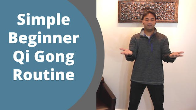 Simple Beginner Qigong (11 mins)