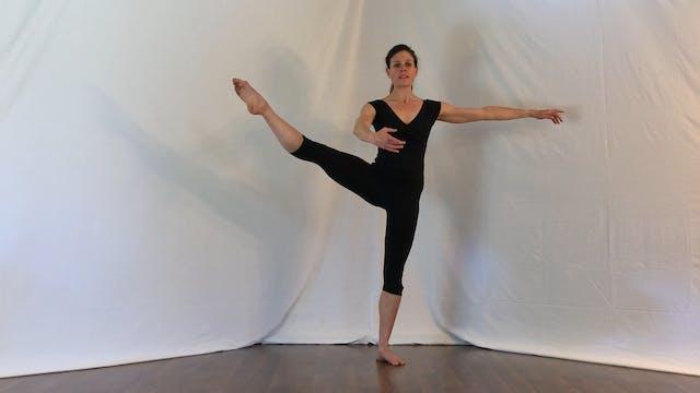 Ballet 5 min basic warm-up: plies, te...