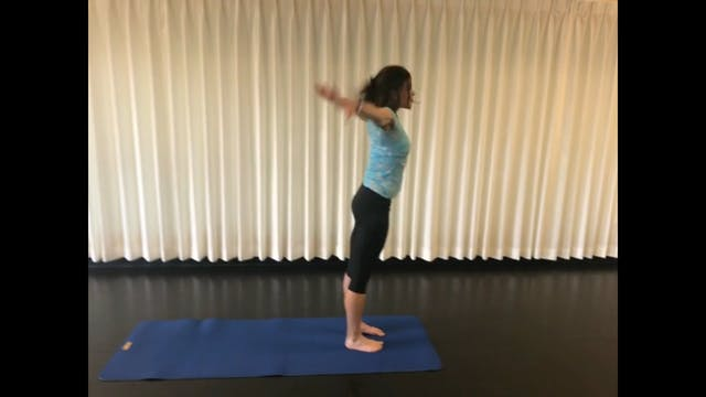 Leg and Hip Stretch and Release