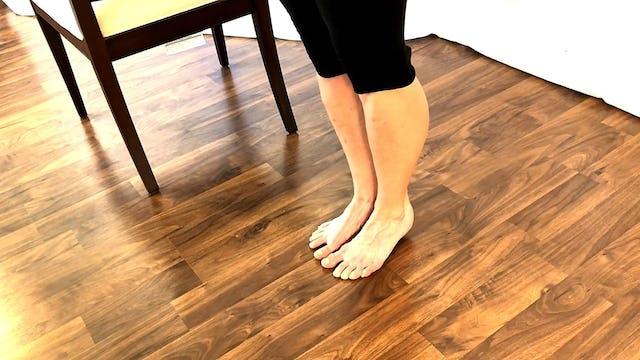 Lower Leg Strengthening using Ballet exercises
