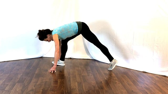 Hip Flexor, Quad and Hamstring Stretch