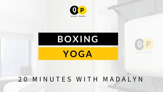 Boxing + Yoga