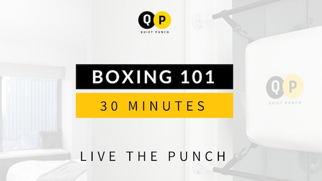 Boxing 101 (No Subscription Required)