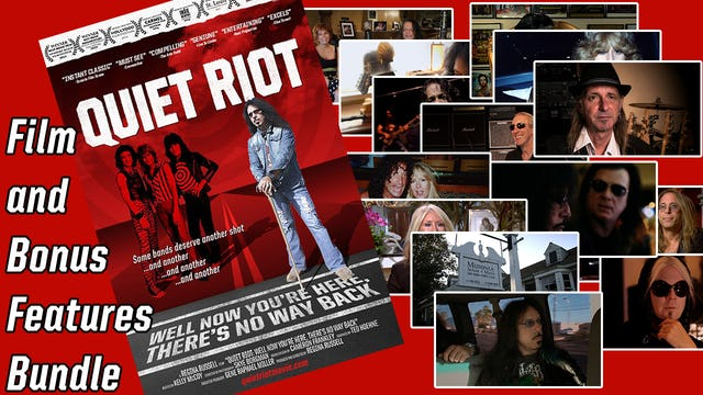 Quiet Riot: Well Now Your Here, There's No Way Back DELUXE BUNDLE