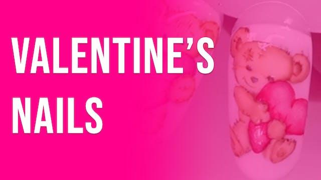 Valentine`s Nails