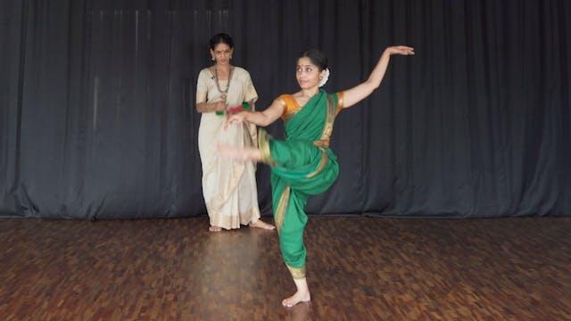 """Varnam, """"Adi Shivane"""" : Part 4 A"""