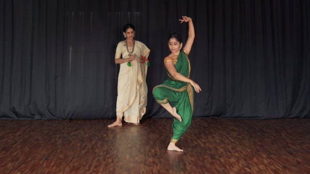 "Varnam, ""Adi Shivane"" : Part 3"