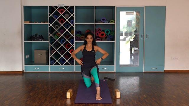 Hamstring and Hip flexor flow