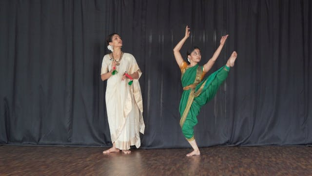 "Varnam, ""Adi Shivane"" : Part 5"
