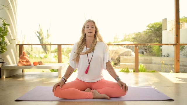 Yoga Girl Meditation