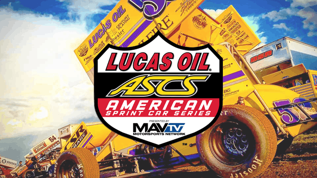 Lucas Oil ASCS  Wakeeney Speedway  8/27/21
