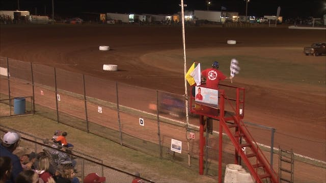 Non-Wing Sprints at Lawton Speedway F...