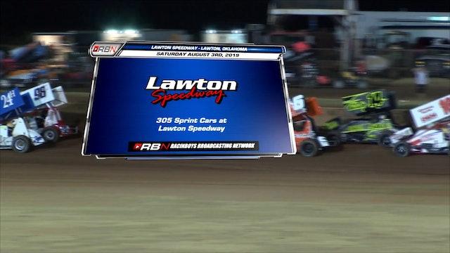 305 Sprints at Lawton Speedway FULL Sat Aug 3, 2019