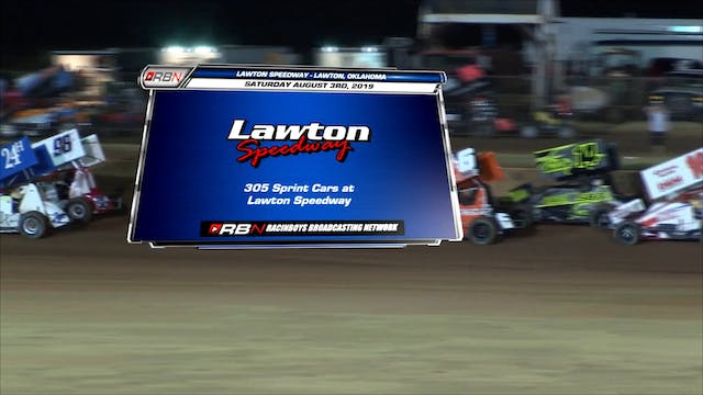 305 Sprints at Lawton Speedway FULL S...