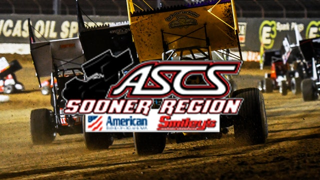 ASCS Sooner Region  Creek County Speedway  10/30/21