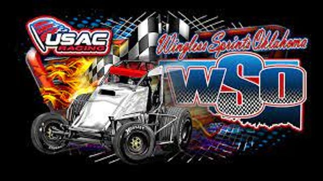 USAC Wingless Sprints of Oklahoma Red...
