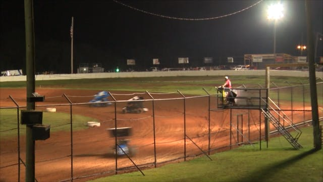 305 Wing Sprint Cars Red Dirt Raceway...