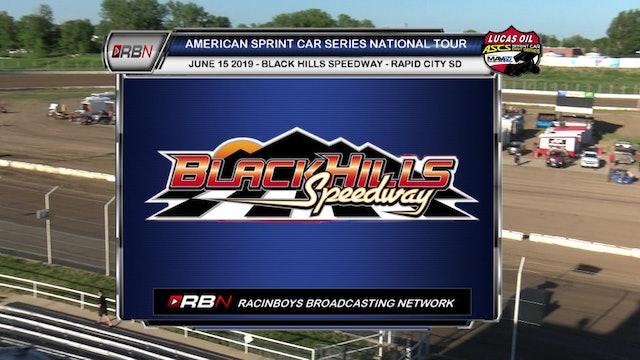 Lucas Oil ASCS A-Main Black Hills Speedway Sat Jun 15, 2019