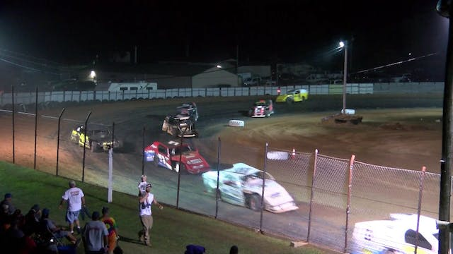 USRA B-Mod A-Main Dallas County Speed...