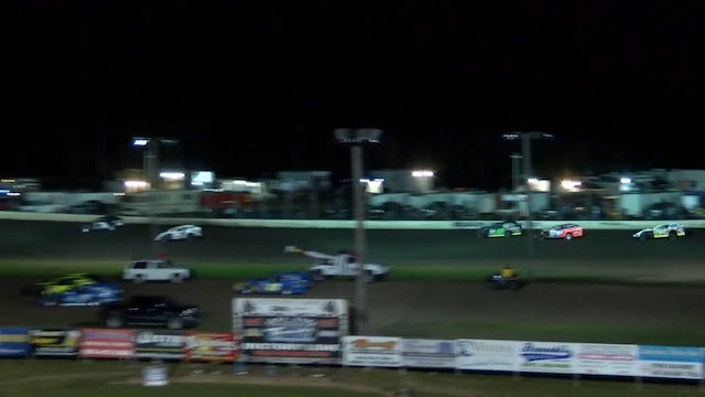 USRA B-Mod Nationals Heat Session 2 Mississippi Thunder Speedway 9/7/17