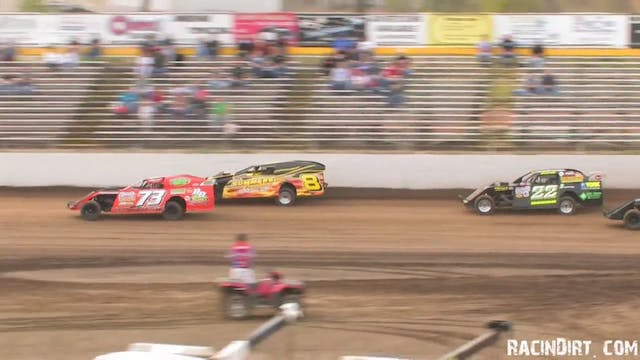 USMTS at Valley Speedway Heat Races a...