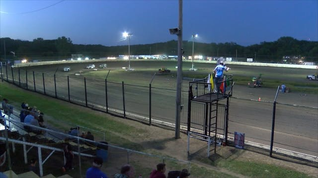 USRA B-Mods Heats at Caney Valley Spe...