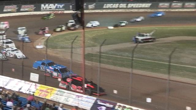 USRA Modified A-Main Lucas Oil Speedway 7/4/19