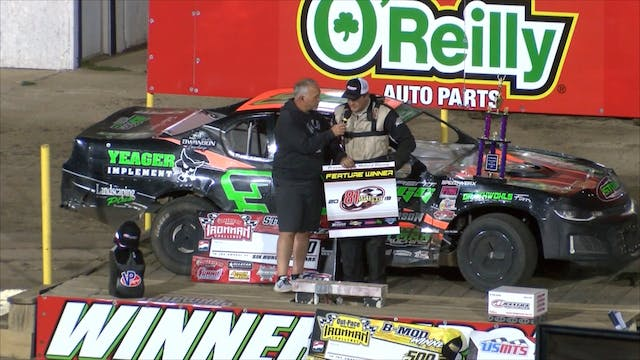 USRA Stock Car A-Main at 81 Speedway ...