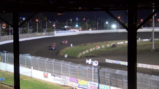Wissota 100 Mod Four A-Main Dakota State Fair Speedway 9/16/16