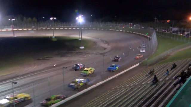 USRA Nationals Stock Car A-Main 10/13/16
