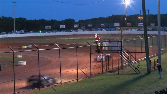 Sooner Limited Modified Heats At Red Dirt Raceway 5-18-18