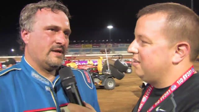 Show Me 100 Post Race Interviews