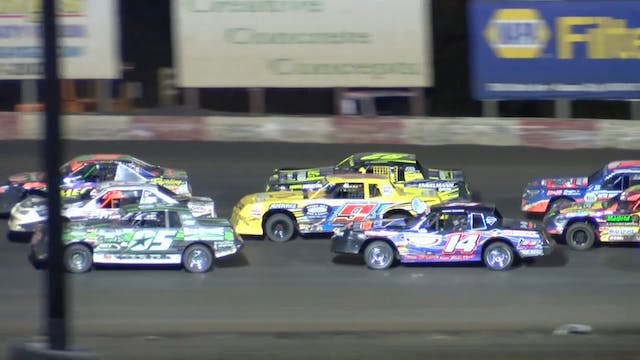 USRA Nationals Stock Car A-Main 10/15/16