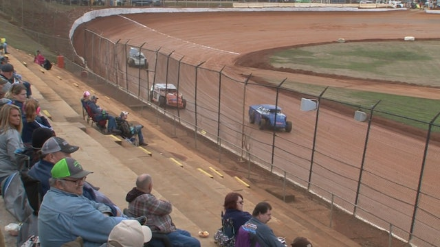 Modified B-Main Hangover 411 Motor Speedway 12/27/19