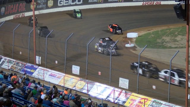 USRA A-Mod A-Main Lucas Oil Speedway ...