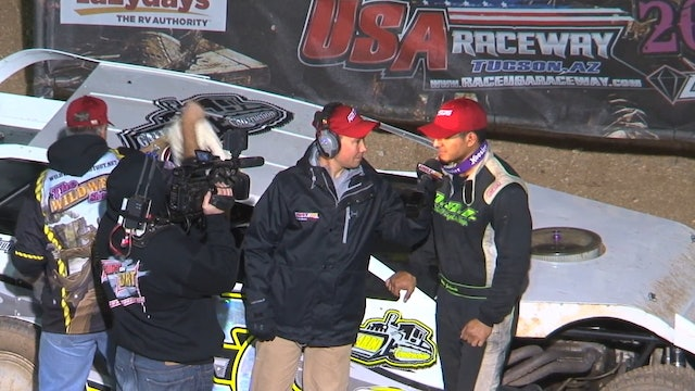 Wild West Shootout USRA Modified A-Main 1/17/16